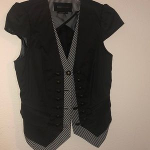 BCBC MaxAzria cap sleeve blazer XS